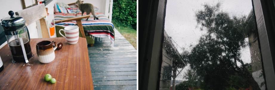 table rain